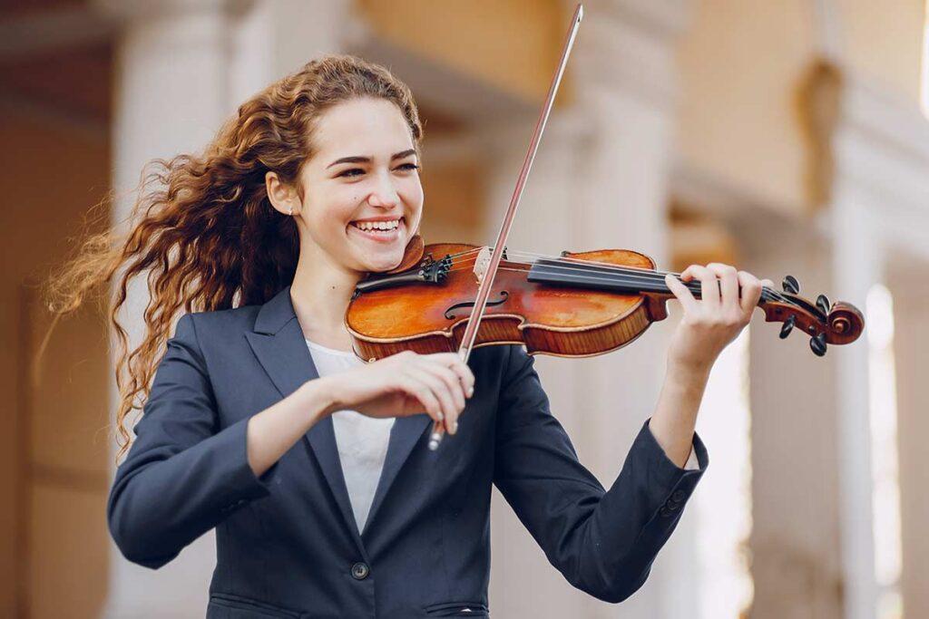 violinist and legato