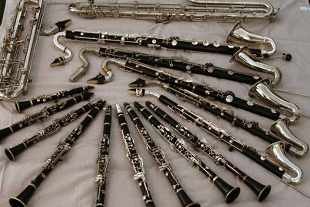 Different Types of The Clarinet