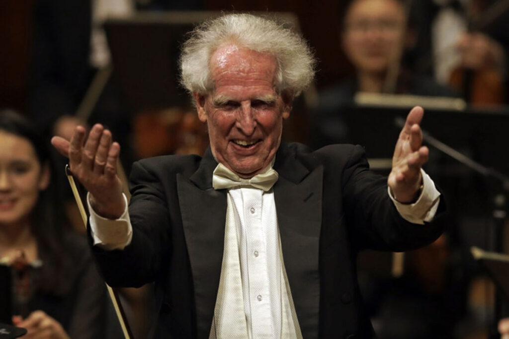 The Boston Philharmonic conductor