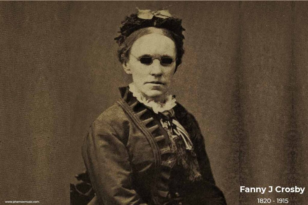 Blessed Assurancee by Fanny J crosby