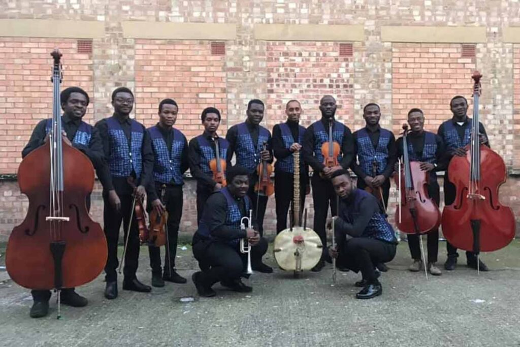 Tunde Jegede and NOK orchestra in London