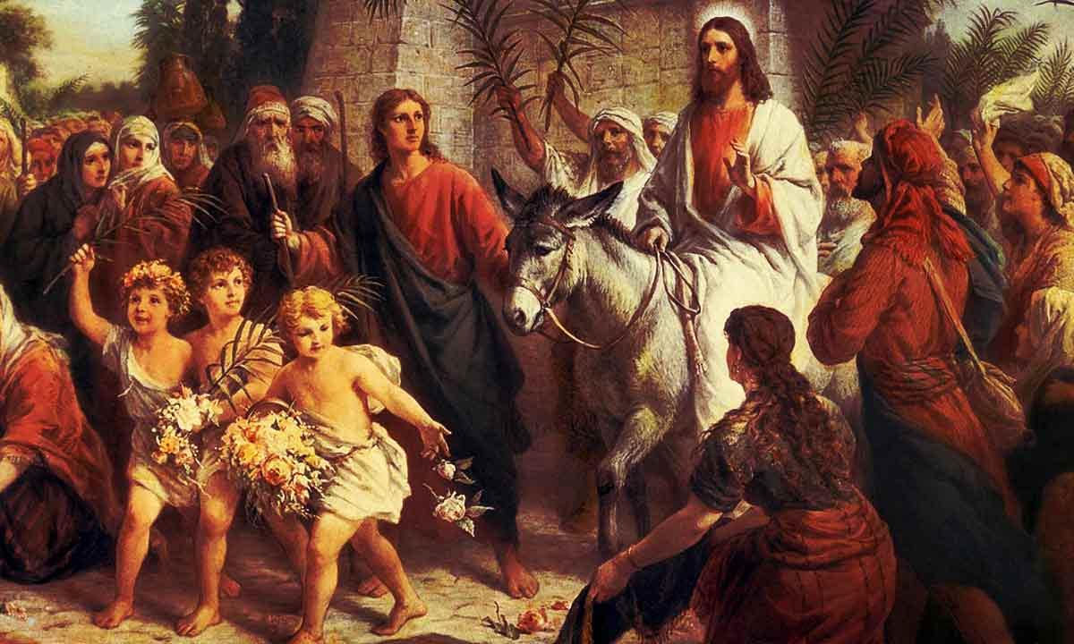 he Hymn All Glory, Laud, And Honour