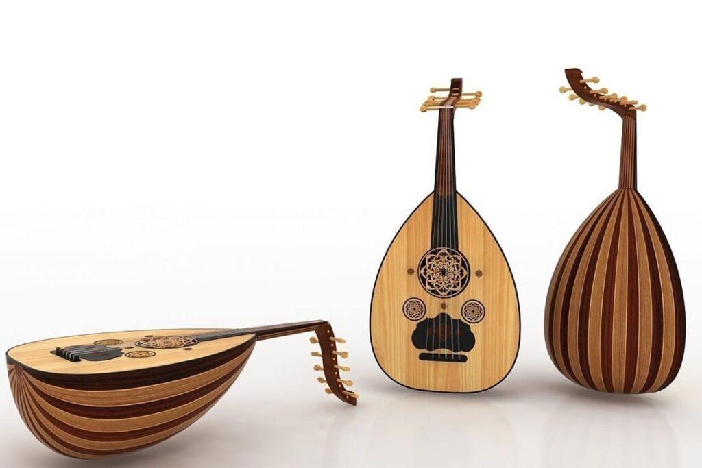 Arabic Oud Musical Intsrument