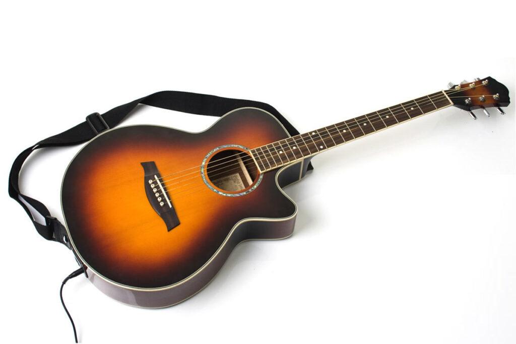 Electric accostic guitar